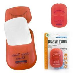 TRAVELON 02095 Body Wash Toiletry Sheets