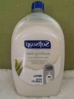 BIG Softsoap Soothing Clean Aloe Vera Fresh Scent Hand Soap