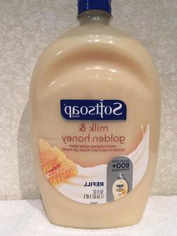 1 SoftSoap Milk & Golden Honey Liquid Hand Soap Refill Bottl