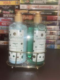 Bodycology 10oz Green Sugar Apple Hand Soap Lotion Gift Set