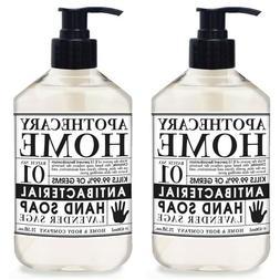 21.5oz Bottles Apothecary Home CO Anti-Bac Liquid Hand Soap
