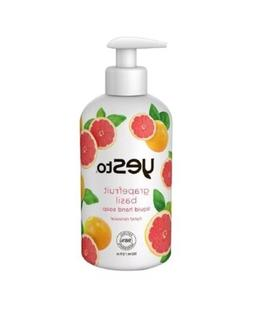 2 Pack Of Yes To Grapefruit Basil Liquid Hand Soap 12 Fluid