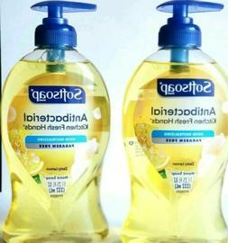 2 Softsoap  Antibacterial Liquid Zesty Lemon Scent Handsoap
