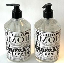 2 Apothecary Home & Body Company Hand Soap Lavender Sage Sce