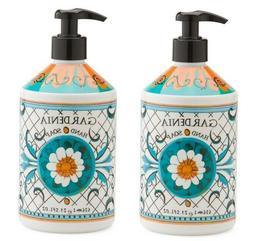 2 Bottles, La Tasse Hand Soap 21.5 FL OZ Each, Gardenia Scen