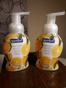 2 Bottles SOFTSOAP  Kitchen Citrus Bliss Foaming Hand Soap 8