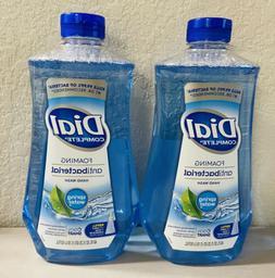 2 Dial COMPLETE Foaming Hand Soap Refill 40 oz each New Spri