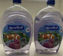 2-Softsoap Hand Soap refill 50oz each , 100oz Total Brand Ne