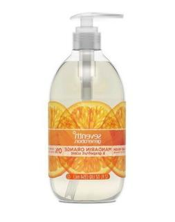 2 Lot Seventh Generation Mandarin Orange Grapefruit Liquid H