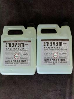 2 Mrs. Meyers Clean Day Hand Soap Refill Lavender Scent 33 O