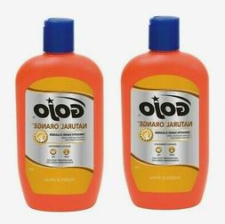 2~Gojo Natural Orange SMOOTH Hand Cleaner 14 oz. Quickly Rem