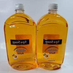 Spa Soap Antibac Liquid Hand Soap 32 oz Each 2 Pack Value Re
