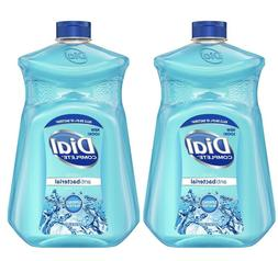 2 Pack Dial Complete Liquid Hand Soap Spring Water 52oz Refi