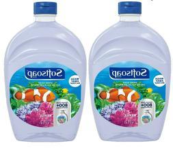 2 pack Softsoap Liquid Hand Soap Refill, Aquarium, 50 Oz