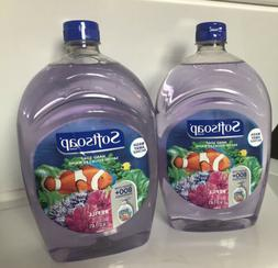 2 Huge Softsoap Hand Soap refill 50oz each , 100oz Total Bra