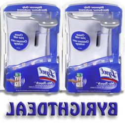 2 UNITS - Lysol No-Touch Automatic Hand Soap Dispenser, Whit