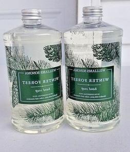 2 Williams Sonoma Winter Forest Hand Soap  16 oz. NEW