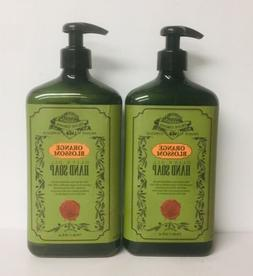 2 X Orange Blossom with Olive Oil Hand Soap 710 ml  Each