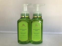 2pcs Bath & Body Works EUCALYPTUS MINT Gentle Foaming Hand S