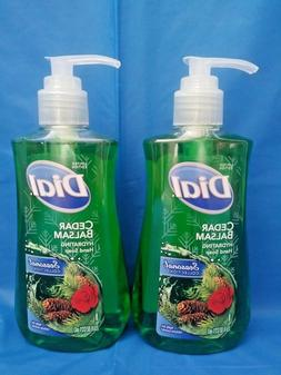 2X Dial Seasonal Collection CEDAR BALSAM Hand Soap Limited E