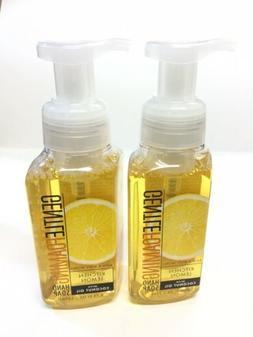 3 BATH & BODY WORKS KITCHEN LEMON GENTLE FOAMING HAND SOAP W