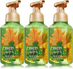 3 Bath & Body Works CEDAR & SAGE Gentle Foaming Hand Soap Fa