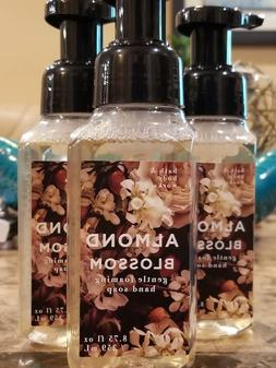 3 Bath & Body Works Almond Blossom Gentle Foaming Hand Soap