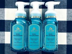 3 Bath & Body Works CRISP MORNING AIR Gentle Foaming Hand So