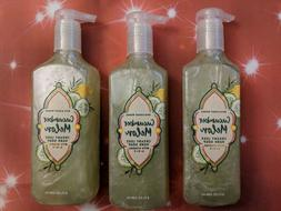 3 Bath & Body Works CUCUMBER MELON Creamy Luxe HAND SOAP w/v