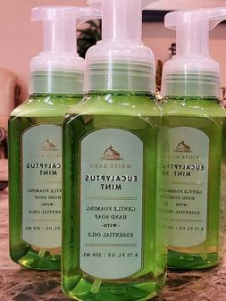 3 bath and body works eucalyptus mint