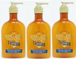 3 Bath & Body Works MANDARIN CLOVE Hand Soap Luxury Honey Bu