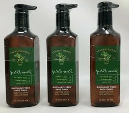 3 Bath & Body Works STRESS RELIEF EUCALYPTUS SPEARMINT Deep