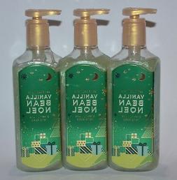 3 BATH & BODY WORKS VANILLA BEAN NOEL CREAMY LUXE HAND SOAP