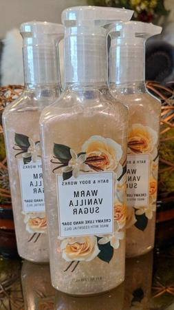 3 Bath & Body Works WARM VANILLA SUGAR Deep Cleansing Hand S