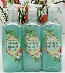3 Bath & Body Works WHITE TEA & SAGE Creamy LUXE Hand Soap