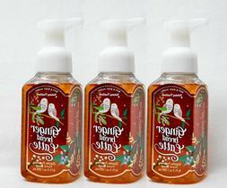 3 Bath Body Works GINGERBREAD LATTE Gentle Foaming Hand Soap