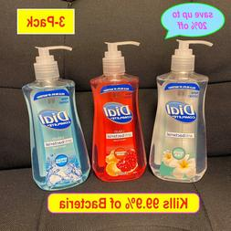 3-Pack Dial Anti-Bac. Complete Liquid Hand Soap 9.375 oz eac