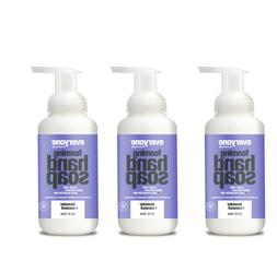 3 pack Everyone Foaming Hand Soap, EWG Verified, Lavender &
