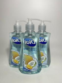 3 Pack Dial Hand Soap 7.5 FL OZ Coconut Water & Mango Hydrat
