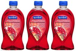 3 Pack of Softsoap Pomegranate and Mango Liquid Hand Soap Re