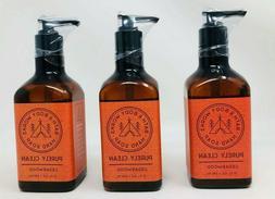 3 VEGAN Bath and Body Works PURELY CLEAN CEDARWOOD Hand Soap