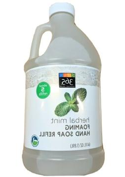 365 Whole Foods Herbal Mint Foaming Hand Soap 64oz  Everyday