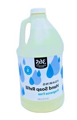365 Whole Foods Unscented Foaming Hand Soap 64oz  Value Frag