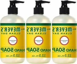 3Packs Mrs. Meyer's Clean Day Liquid Hand Soap, Honeysuckle