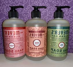 3x hand soap peppermint iowa pine rose