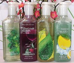 4 Bath & Body Works Deep Cleansing Hand Soap Mixed Scent Set