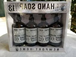 4 Bottles Newport + Home Hand Soap & Essential Oil 16 oz Hom