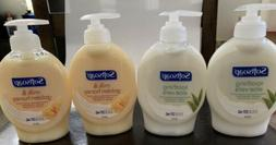 Bottles of SOFTSOAP Aloe Vera & Milk Honey Moisturizing Han