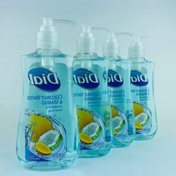 4-Pack Dial Coconut Water & Mango Hydrating Hand Soap 7.5 Fl