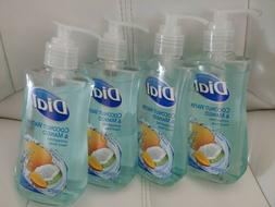 4 PACK Dial Liquid Coconut Water & Mango Hydrating Hand Soap